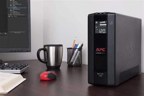 30 apc 1500va compact ups battery backup surge protector techhive