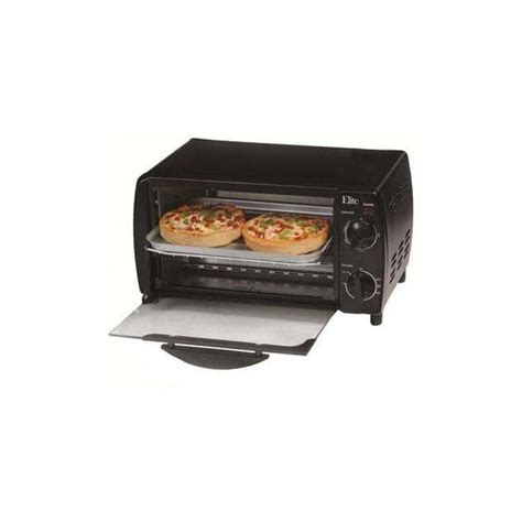 Elite Cuisine 4 Slice Toaster Oven - elite cuisine 4 slice toaster oven broiler eka 9210xb