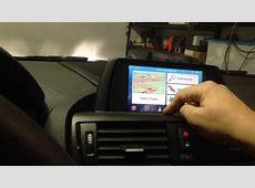 Navigatore GPS economico Touch screen su BMW serie 1 F20