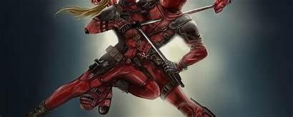 Deadpool Lady Vs 4k Dedpool Wallpapers Resolution