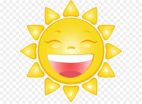 Smiling Sun Cartoon Png Clip Art