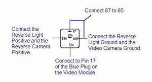Reverse Camera Wiring