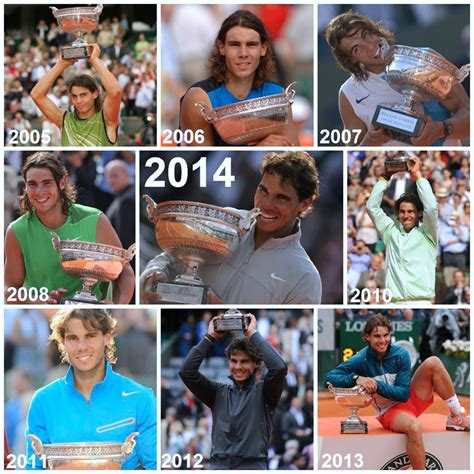 Rafa Nadal Roland Garros Pictures and Photos