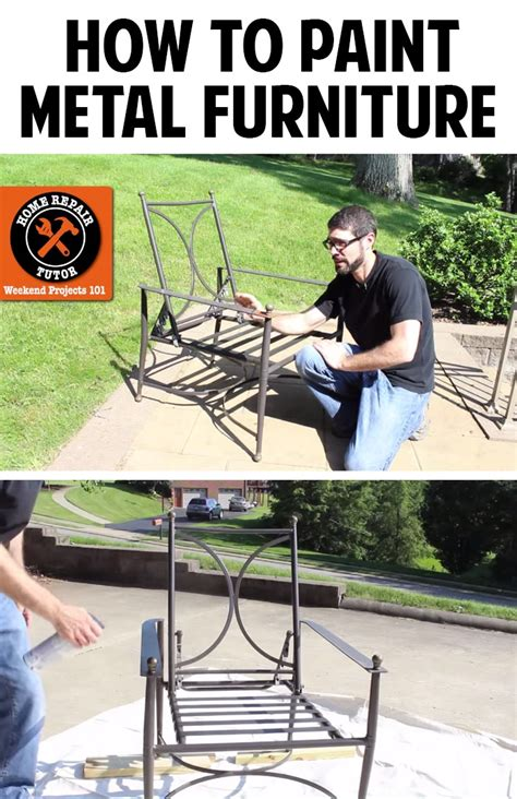 how to paint metal patio furniture andrea s notebook