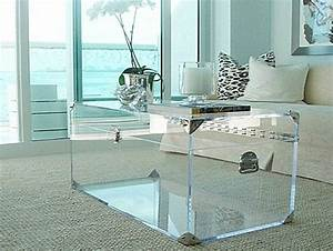 Petite Table En Verre : petite table de salon en verre 8 id es de d coration int rieure french decor ~ Teatrodelosmanantiales.com Idées de Décoration