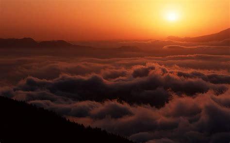 夕阳西下 唯美夕阳晚霞迟暮图片大全