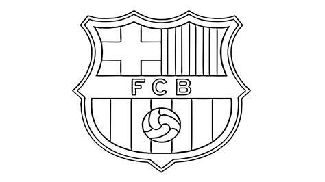 Fc Barcelona Kleurplaat by Comment Dessiner Le Fc Barcelona Logo Fcb