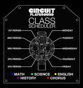 Scheduler Code | Circuit Playground Class Scheduler ...