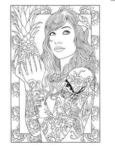 1000+ images about coloring pages on Pinterest | Dover publications, Coloring books and Dovers