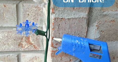 how to hang lights on brick how to hang lights on brick in three easy steps this will