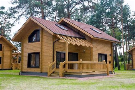 Modern Design Import Solid Wood Bungalow For Sale