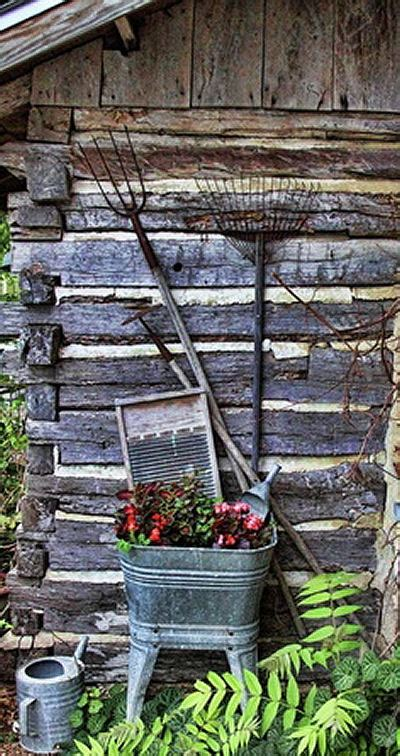 Galvanized Garden Decor Popular