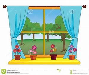 Garden window clipart