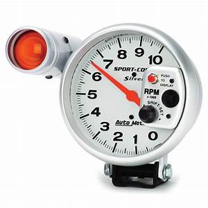 Auto Meter Sport-comp Silver Tachometers