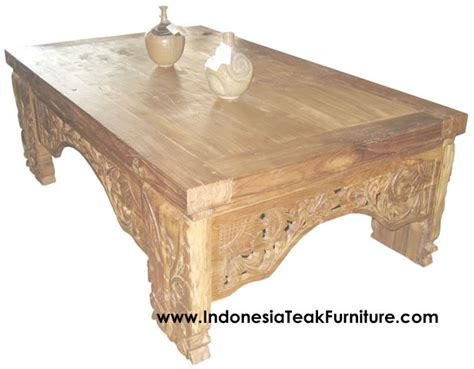 balinese wooden coffee tables carved wood coffee table bali indonesia bali crafts com