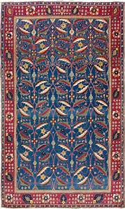 How to read rug and carpet designs christie39s for Indian carpet designs