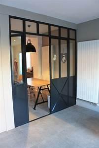 Verriere Interieure Metallique : photo porte de cuisine de style atelier d 39 artiste ~ Premium-room.com Idées de Décoration