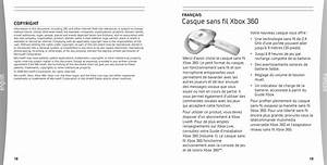 Microsoft Wh01 Xbox 360 Wireless Headset User Manual