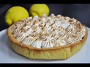 Recette Tarte Citron Meringuée Facile : recette facile de la tarte au citron meringu e us subtitles lemon pie youtube ~ Nature-et-papiers.com Idées de Décoration