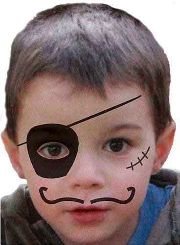 kinderschminken einfache vorlagen fuer karneval kinder