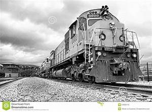 Diesel Electric Freight Train Engine Locomotives Royalty ...