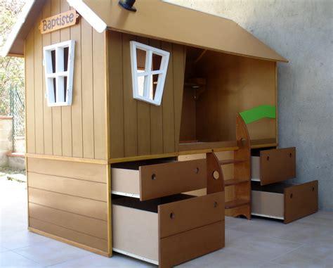 cabane chambre fille cabane enfant chambre diy un lit cabane pour une chambre