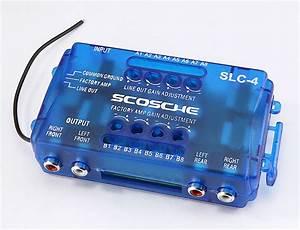 Scosche Slc4 Line Output Converter Convert Speaker