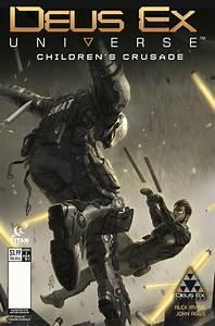 Comic Book Preview  Deus Ex Universe  Children U0026 39 S Crusade  1