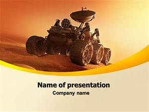Mars Rover Presentation Template for PowerPoint and ...