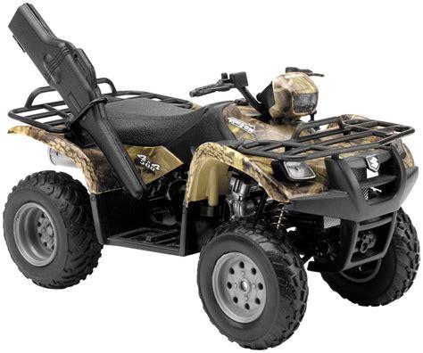 atv 4x4 new factory suzuki 500 4x4 replica atv motorcycle toys boys 1 12 ebay