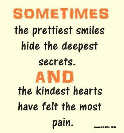 Smile and Pain Quotes