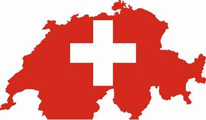 Switzerland Flag Swiss Outline Commons Wikimedia Map