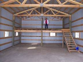 gallery for gt pole barn plans with loft