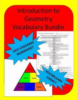 Geometry Vocabulary  Worksheets, Count And Students