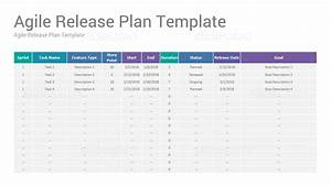 agile project management google slides presentation With scrum release plan template