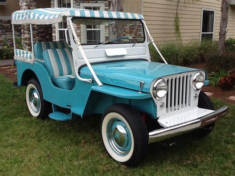 jeep willys custom 1960 willys cj3a custom jeep 138945