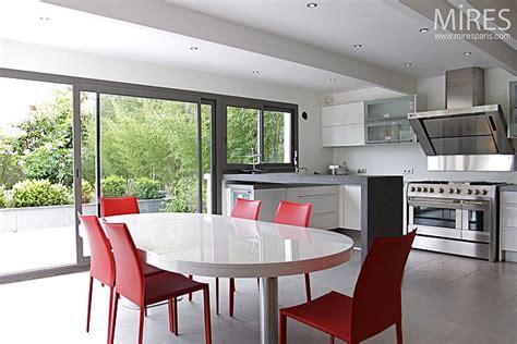 baie de cuisine cuisine design sur jardin c0064 mires