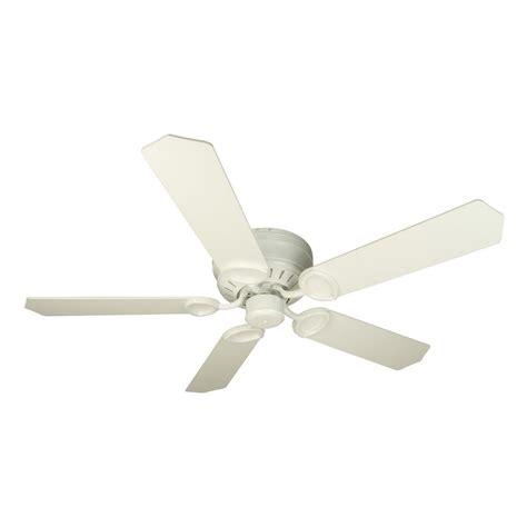 hugger ceiling fan without light craftmade lighting pro universal hugger white ceiling fan