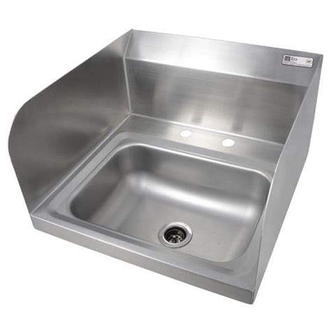pro bowl fabricated space saver wall mount hand sink