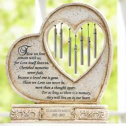 Personalized They'll Live On In Our Hearts Memorial Chime - Personal Creations Gifts