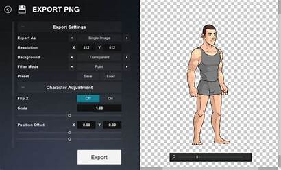 Character Creator Export 2d Standalone Version Itch