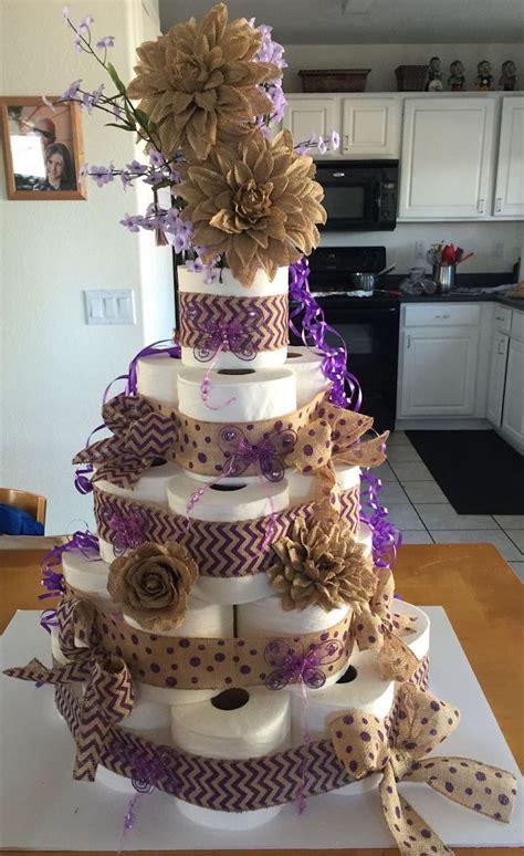 torte aus toilettenpapier selber machen torte mal anders