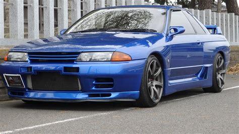 skyline nissan r32 nissan skyline gtr r32 bayside blue for sale import jdm