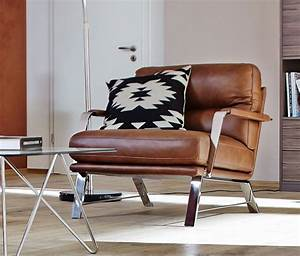 Petit fauteuil en cuir maison design wibliacom for Petit fauteuil cuir