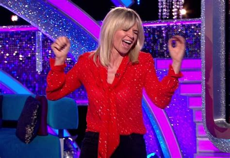 Zoe Ball leaves set of Strictly Come Dancing: It Takes Two ...