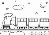 Train Coloring Pages Printable Track Trains Sheets Night Template Preschool Cool2bkids Sheet Locomotive Books Boys sketch template