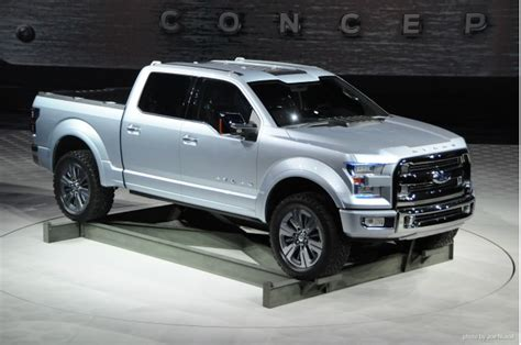 ford atlas truck concept demos fuel saving active wheel