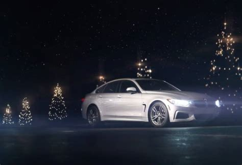 bmw christmas car commercial trio product reviews net