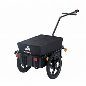 Aosom Double Wheel Internal Frame Enclosed Bicycle Cargo