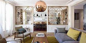 salon contemporain marie claire With good meuble sejour design contemporain 17 salon moderne avec cheminee deco maison moderne